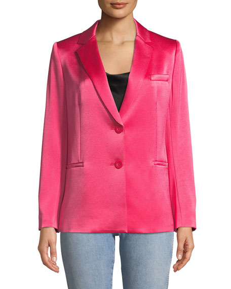 Bergen One-Button Relaxed Blazer