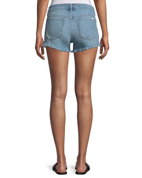 Ozzie Distressed Denim Shorts