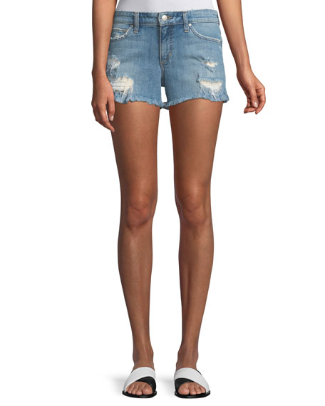 Joe's Jeans Ozzie Distressed Denim Shorts