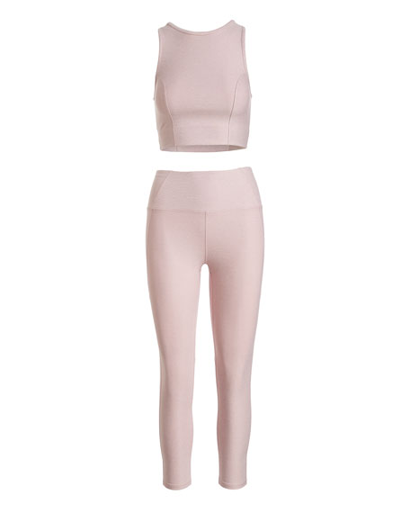 Everett High-Waist Cropped Tights
