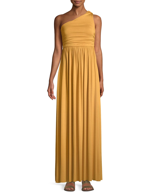 93beaead40e7 One Shoulder Evening Dress Plus Size - raveitsafe