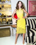 Alice + Olivia Margy Floral Lace Sleeveless Dress