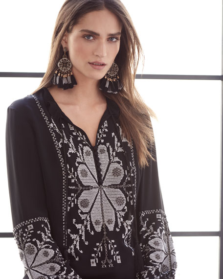 Madelina Embroidered Blouse