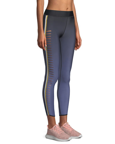 Slash Ombre Performance Leggings