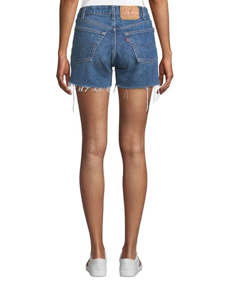Elizabeth and James Vintage One-of-a-Kind Cutoff Denim Shorts