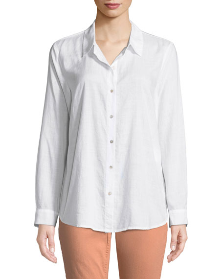 Crosshatch Classic Button-Front Shirt