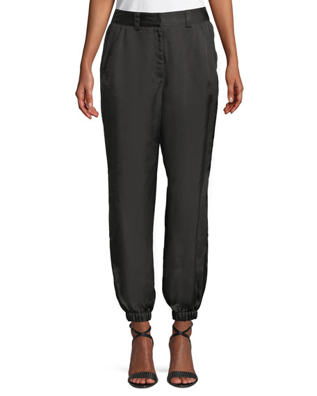 cinq a sept Vega Twill Jogger Pants