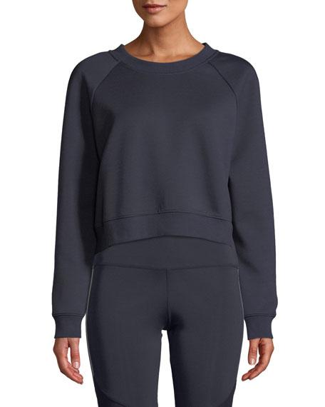 Nylora Magnolia Lace-Up Pullover Sweatshirt