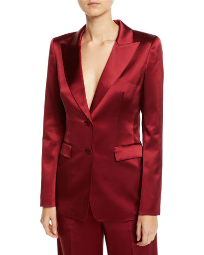 Faven Reverie Satin Jacket