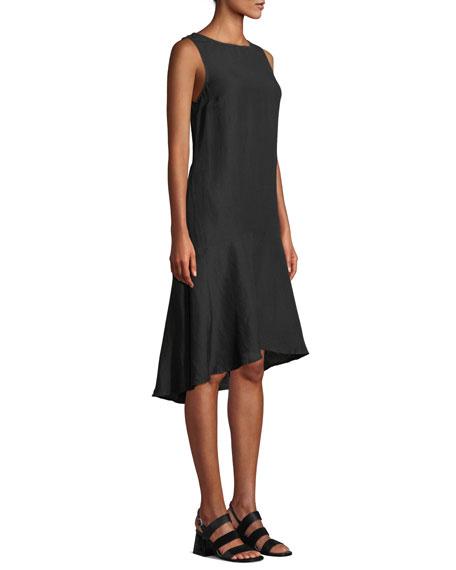 Tommy Bahama Sleeveless Linen Flounce Coverup Dress
