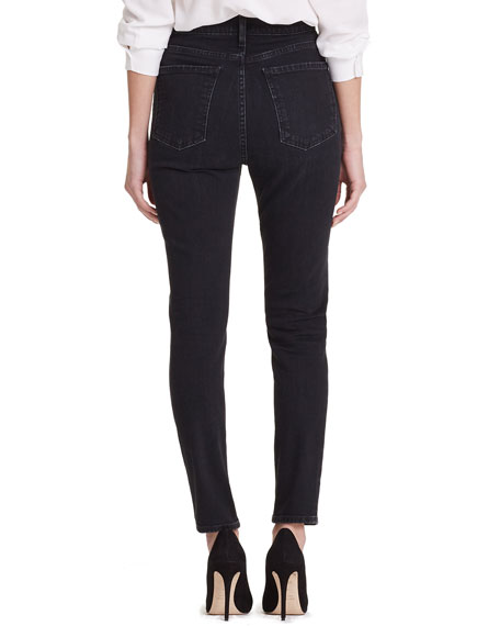 Citizens of Humanity Olivia High-Rise Button-Fly Straight-Leg Jeans