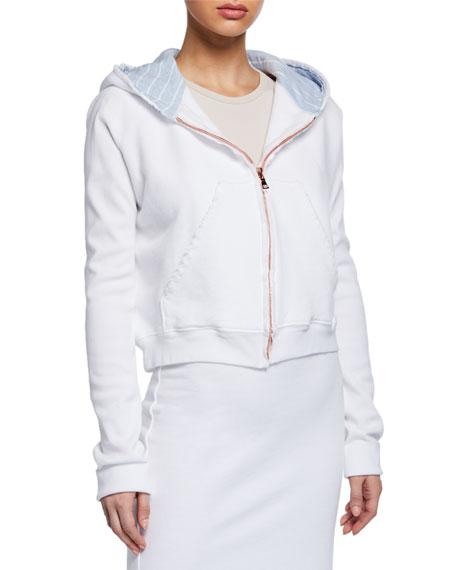 Frank & Eileen Tee Lab Cotton Fleece Zip-Front Hoodie