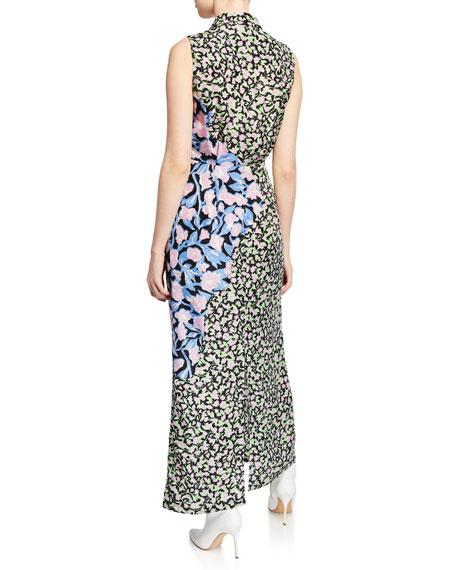 Christian Wijnants Dijara Floral Patchwork Dress