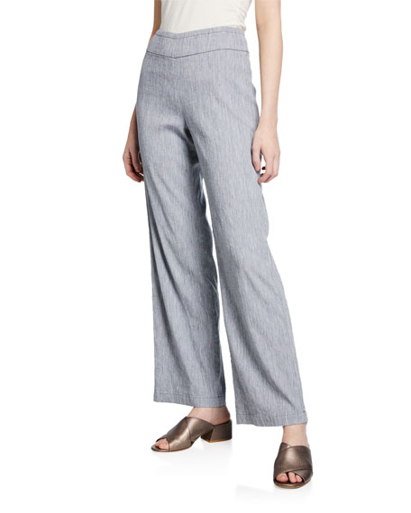 NIC+ZOE Petite Here or There Mid-Rise Pull-On Pants