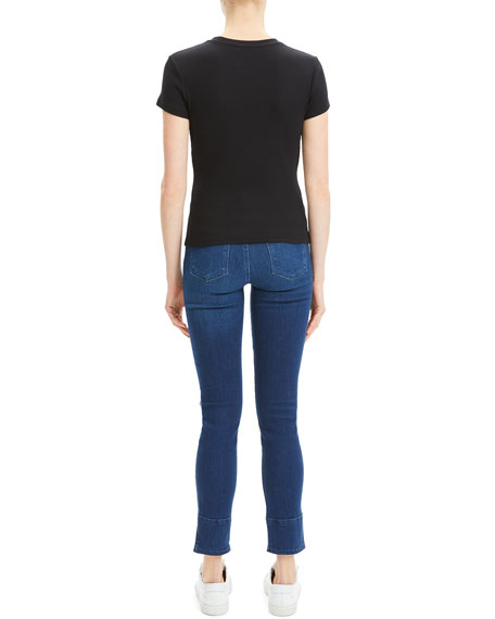Theory Tiny Tee 2 Compact Rib Top