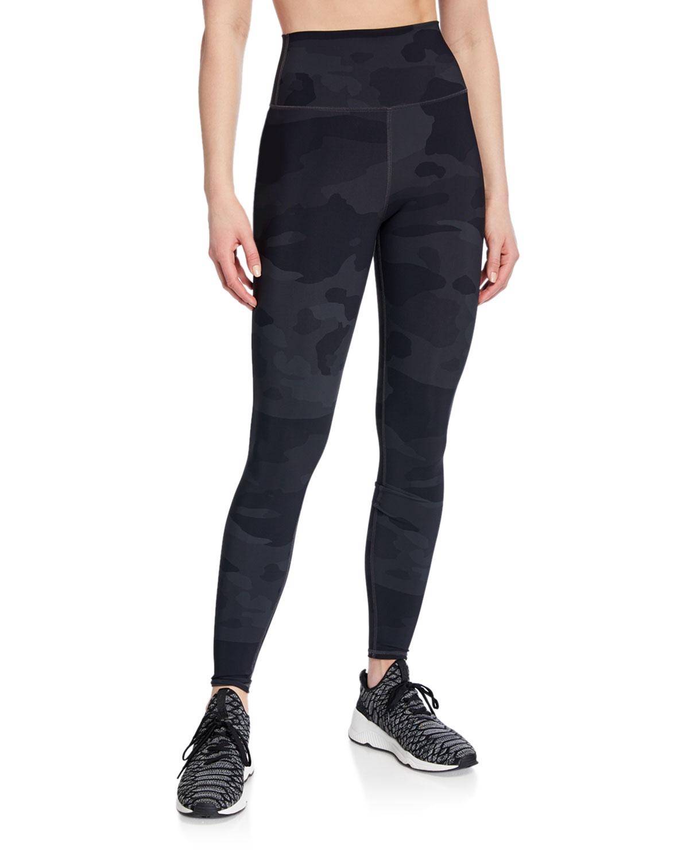 e99b90e731d04d Alo Yoga Vapor Camo-Print High-Waist Performance Leggings | Neiman ...