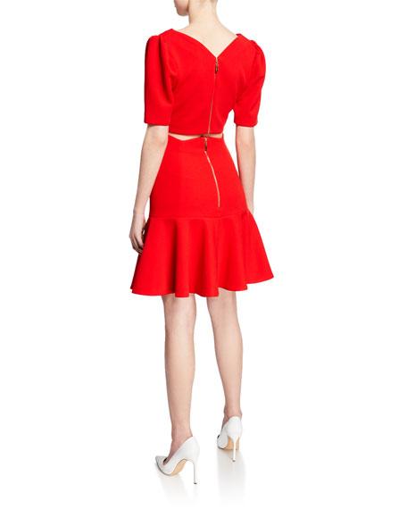 Elliatt Petal Crop Top and Skirt Set