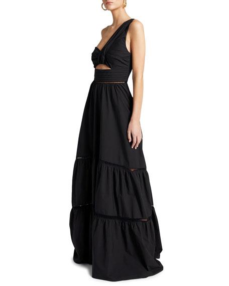 A.L.C. Piper One-Shoulder Maxi Dress