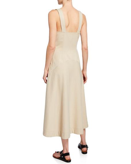 A.L.C. Varelli Sweetheart Sleeveless Midi Dress