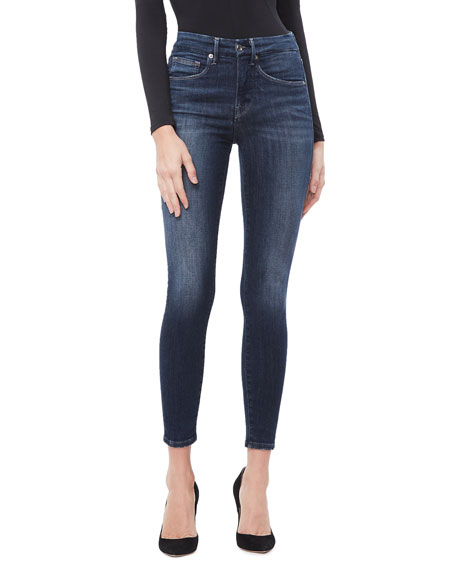 Good American Good Legs Crop Jeans - Inclusive Sizing