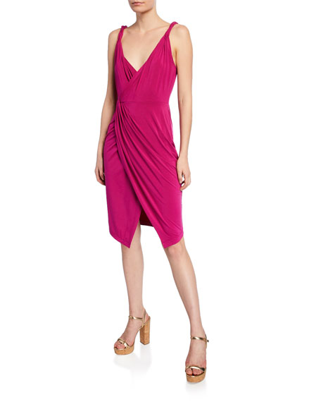 Ramy Brook Geniveve Gathered Sleeveless Dress