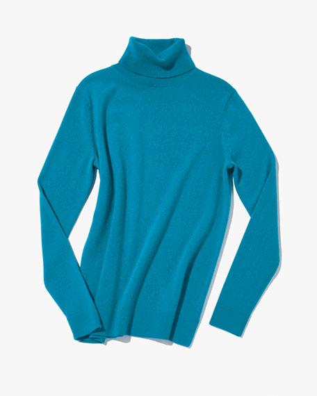 Neiman Marcus Cashmere Collection Cashmere Turtleneck Sweater