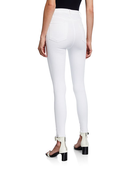 Image 2 of 3: FRAME Ali High-Rise Ankle Skinny Jeans