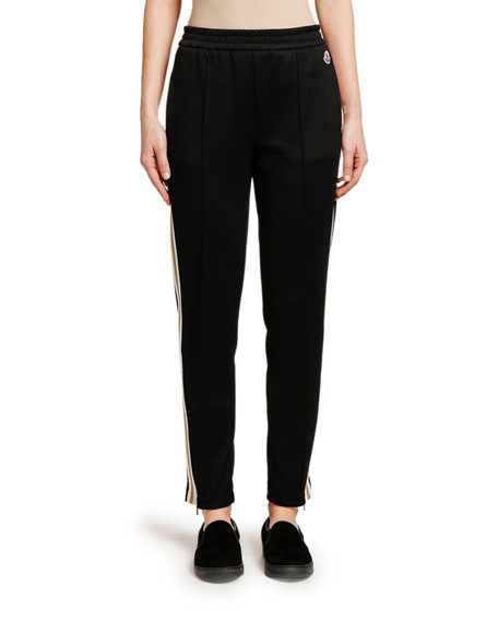 Image 4 of 4: Moncler Striped Track Pants