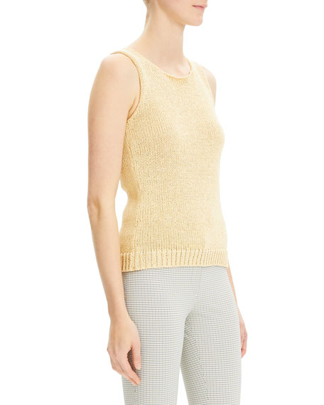 Theory Merletto Scoop Shell Top