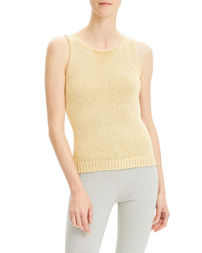 Merletto Scoop Shell Top