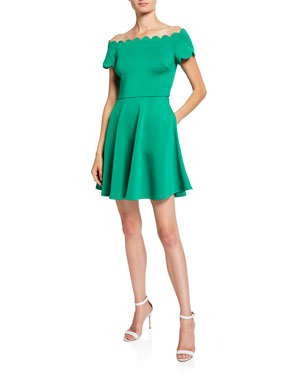 1e6d735e2f Contemporary Off the Shoulder Dresses at Neiman Marcus