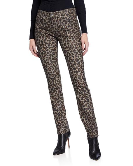 Veronica Beard Brooke Mid-Rise Skinny Jeans