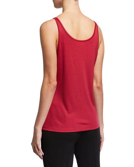 Eileen Fisher Scoop-Neck Stretch Silk Jersey Cami