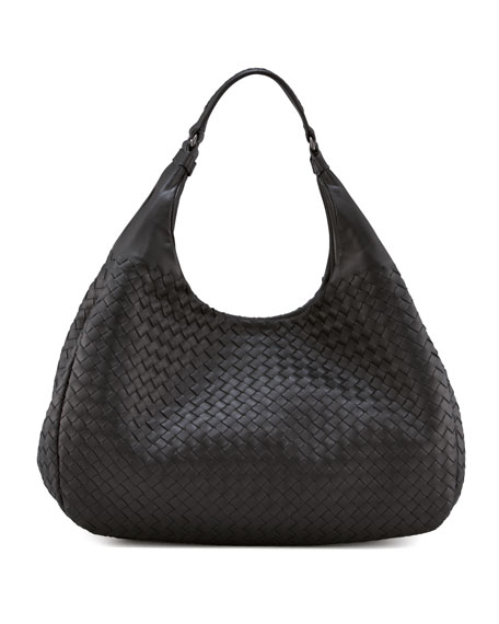 Bottega Veneta Double-Handle Veneta Hobo