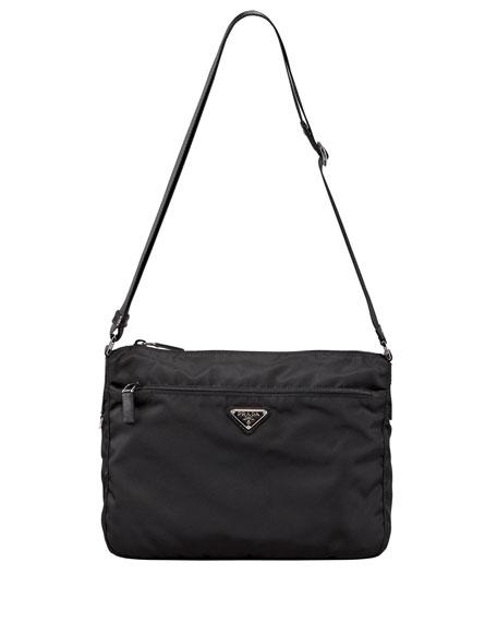 Vela Shoulder Bag, Black (Nero)