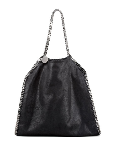 Falabella Large Tote, Black