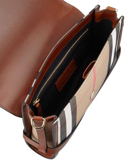 Check Small Crossbody Bag