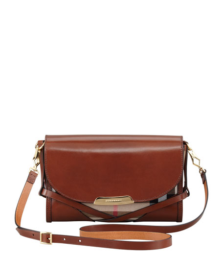 Check Small Crossbody Bag