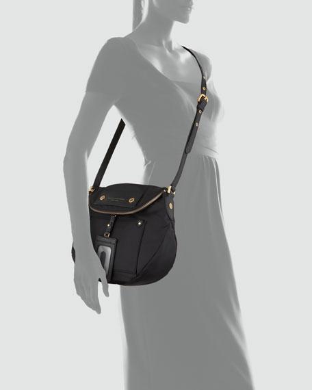 Preppy Nylon Natasha Bag, Black