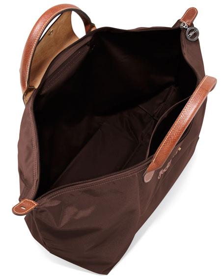 Le Pliage Monogrammed Large Travel Tote Bag