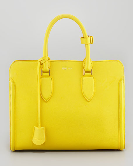 Heroine Open Tote Bag, Bright Yellow