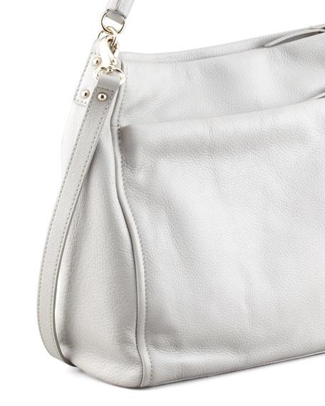 cobble hill curtis hobo bag, gray