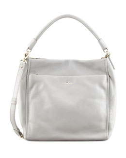 kate spade new york cobble hill curtis hobo bag, gray