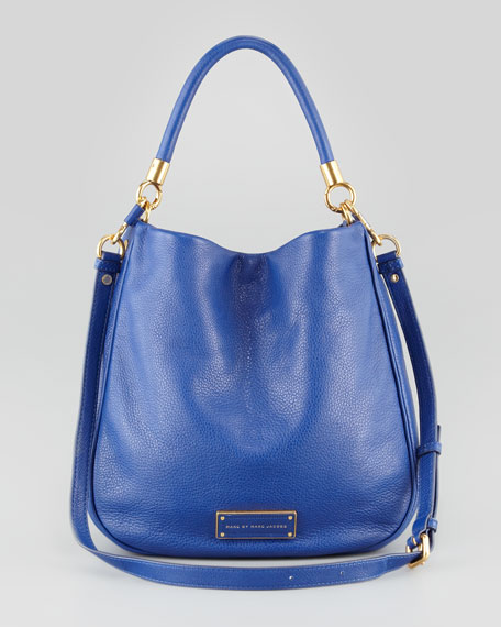 Too Hot to Handle Hobo Bag, Blue