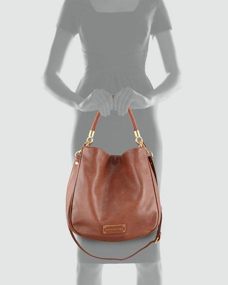 Too Hot to Handle Hobo Bag, Brown