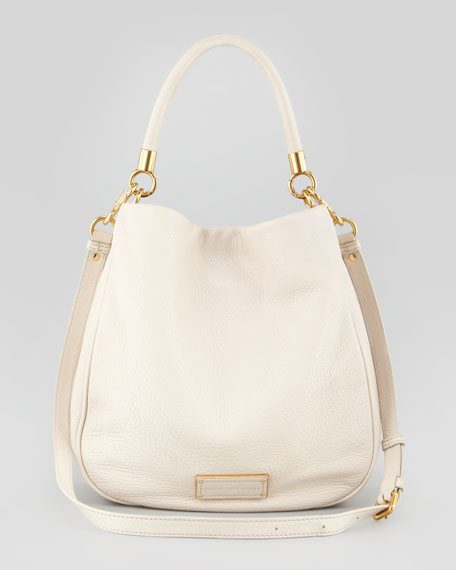 Too Hot to Handle Hobo Bag, Beige
