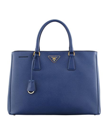 prada messenger bags sale - Prada Saffiano Gardener\u0026#39;s Tote Bag, Blue (Bluette)