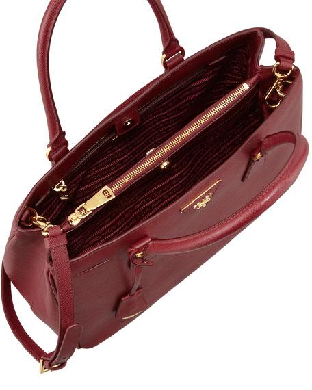 Saffiano Gardener's Tote Bag, Wine (Cerise)