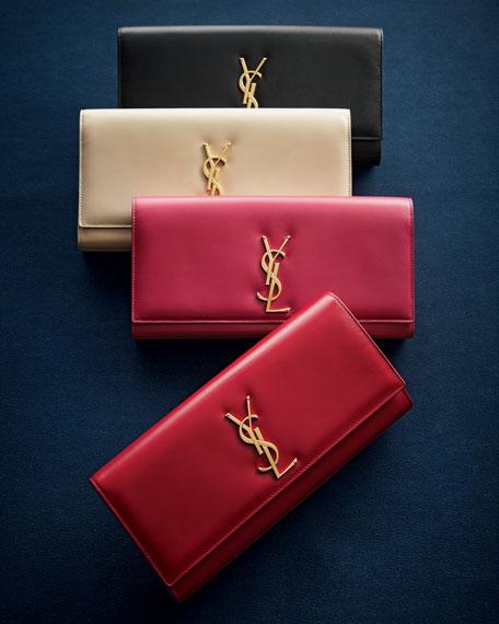 Cassandre Clutch Bag, Pink