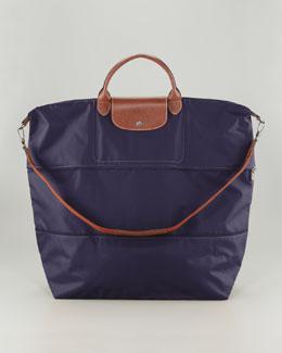 Longchamp Le Pliage Expandable Travel Bag, Bilberry